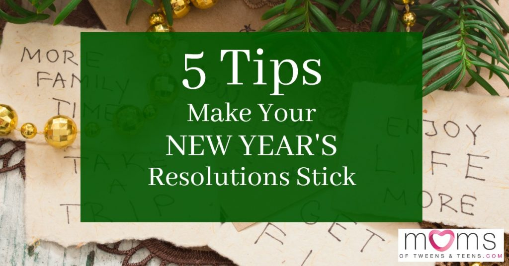 keep your new years resolutions